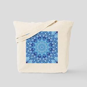 Frozen Mandala Tote Bag