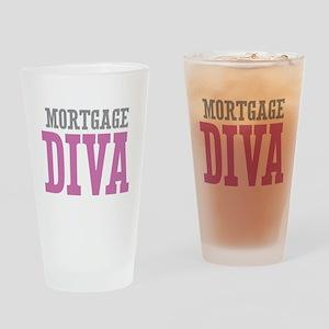 Mortgage DIVA Drinking Glass