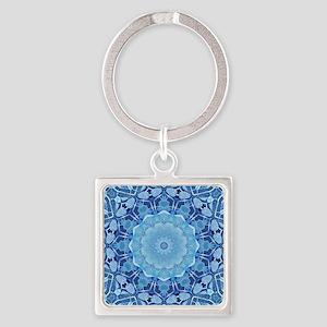 Frozen Mandala Keychains