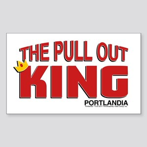 The Pull Out King Portlandia Sticker