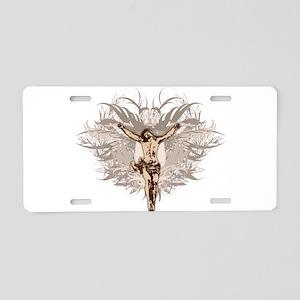 Jesus Christ Crucifixion Aluminum License Plate