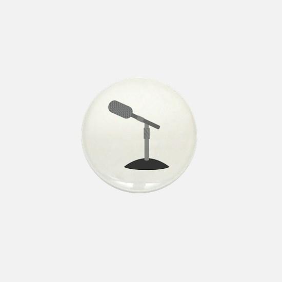 Microphone Desk Stand Mini Button