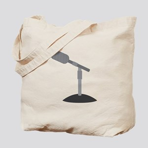 Microphone Desk Stand Tote Bag