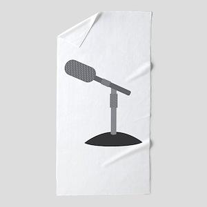 Microphone Desk Stand Beach Towel