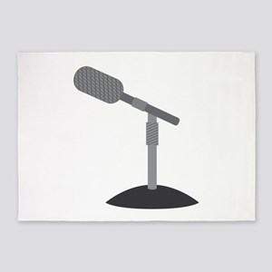 Microphone Desk Stand 5'x7'Area Rug