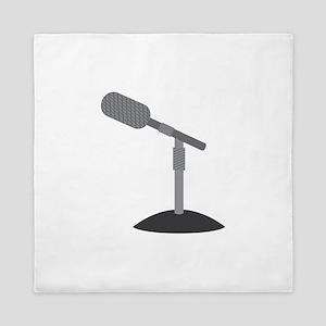 Microphone Desk Stand Queen Duvet