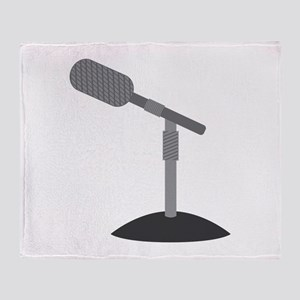 Microphone Desk Stand Throw Blanket