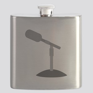 Microphone Desk Stand Flask