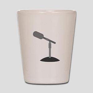 Microphone Desk Stand Shot Glass