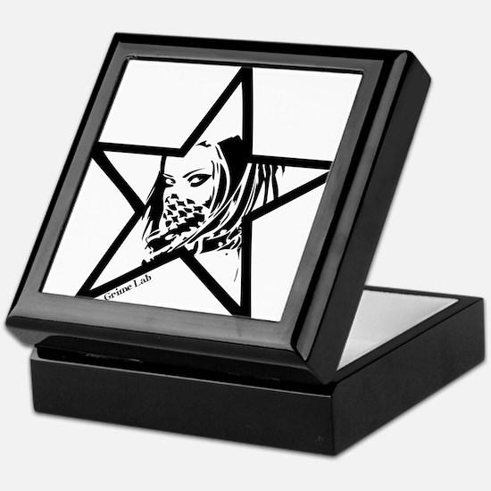 Pin Up Star Keepsake Box