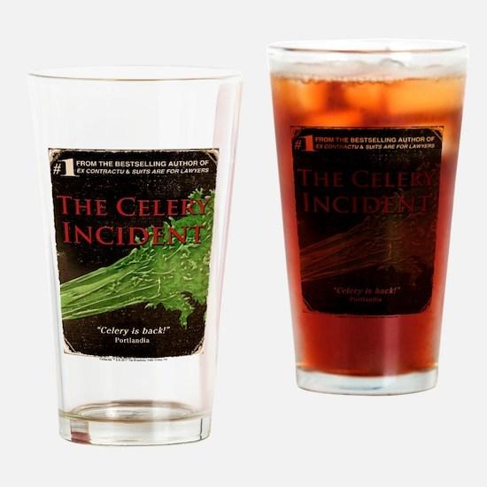 The Celery Incident Portlandia Drinking Glass