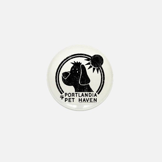 Portlandia Pet Haven Mini Button