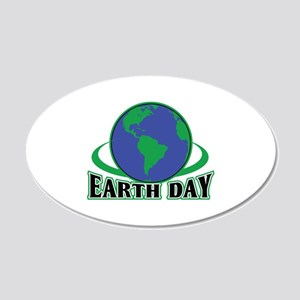 EARTH DAY APPLIQUE Wall Decal