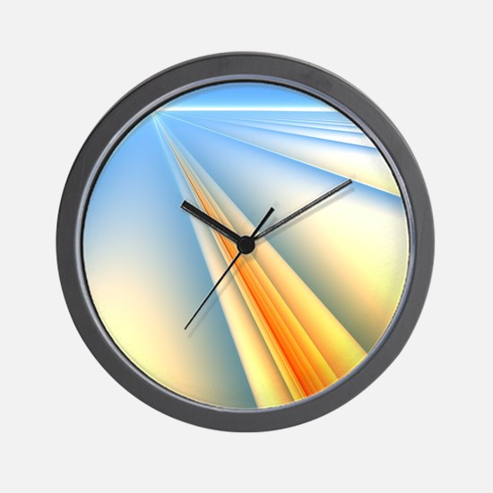 The Blinding Light of Day Wall Clock