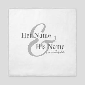 Wedding Gift Queen Duvet