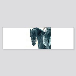 Friesian X 2 Bumper Sticker