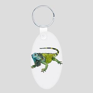 Gorgeous Green Iguana Keychains