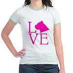 Cane Corso Love Jr. Ringer T-Shirt