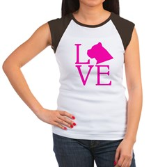 Cane Corso Love Women's Cap Sleeve T-Shirt