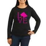 Cane Corso Love Women's Long Sleeve Dark T-Shirt