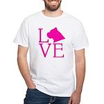 Cane Corso Love White T-Shirt