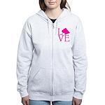 Cane Corso Love Women's Zip Hoodie