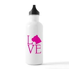 Cane Corso Love Water Bottle