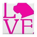 Cane Corso Love Tile Coaster