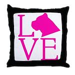 Cane Corso Love Throw Pillow
