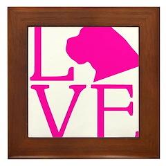 Cane Corso Love Framed Tile