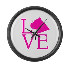 Cane Corso Love Large Wall Clock