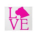 Cane Corso Love Throw Blanket