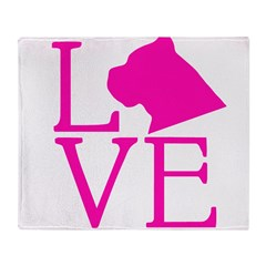 Cane Corso Love Throw Blanket