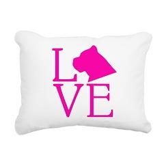 Cane Corso Love Rectangular Canvas Pillow