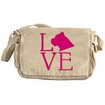 Cane Corso Love Messenger Bag