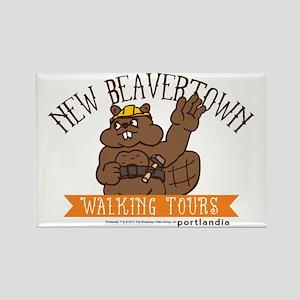 New Beavertown Walking Tours Portlandia Magnets