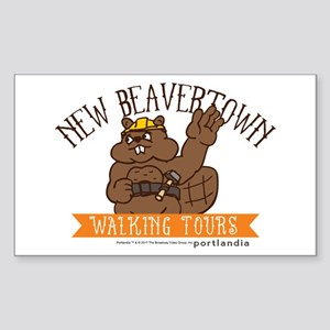 New Beavertown Walking Tours Portlandia Sticker