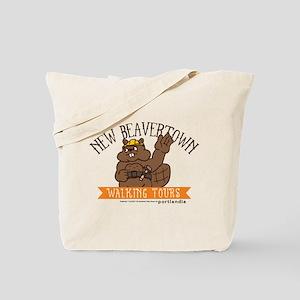 New Beavertown Walking Tours Portlandia Tote Bag