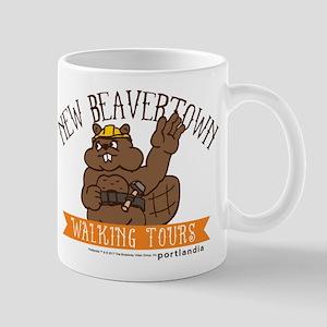 New Beavertown Walking Tours Portlandia Mugs