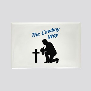 THE COWBOY WAY Magnets