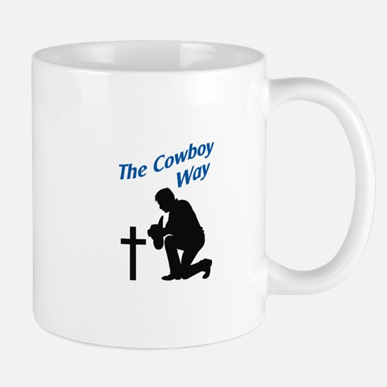 THE COWBOY WAY Mugs