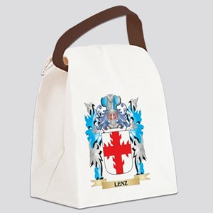 Lenz Coat of Arms - Family Crest Canvas Lunch Bag