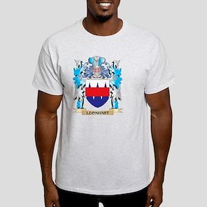 Leonhart Coat of Arms - Family Crest Light T-Shirt