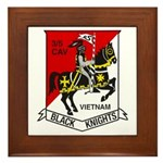 3RD SQUADRON 5TH CAVALRY Framed Tile
