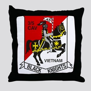 3RD SQUADRON 5TH CAVALRY Throw Pillow