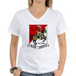 3RD SQUADRON 5TH CAVALRY Women's V-Neck T-Shirt