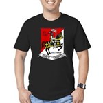 3RD SQUADRON 5TH CAVAL Men's Fitted T-Shirt (dark)