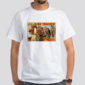 SIDE TRACKED white t-shirt