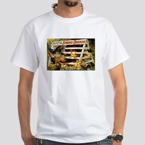 SPRING CHICK white t-shirt