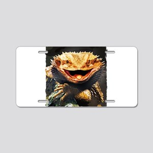Grotesque Bearded Dragon Li Aluminum License Plate